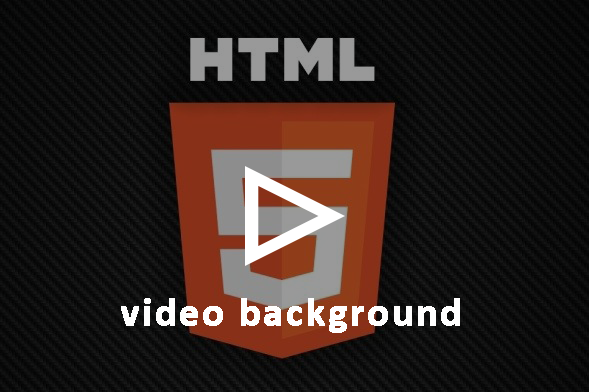 HTML 5 ile video (background) arkaplan yapımı